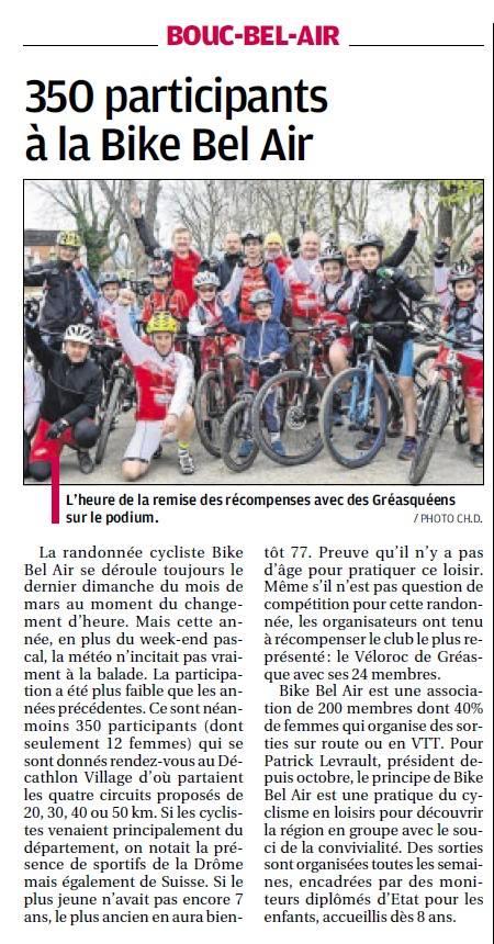 Bike Bel Air 2016 - La Provence